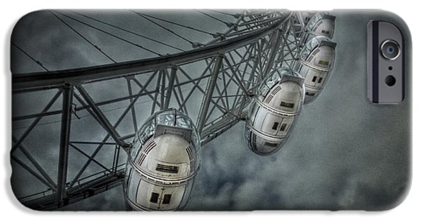 Landmarks Photographs iPhone Cases - More Then Meets The Eye iPhone Case by Evelina Kremsdorf