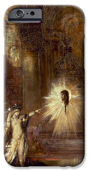 1876 Paintings iPhone Cases - Moreau: Apparition, 1876 iPhone Case by Granger