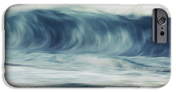 Break Fast iPhone Cases - Moring Wave on Oahu iPhone Case by Vince Cavataio - Printscapes