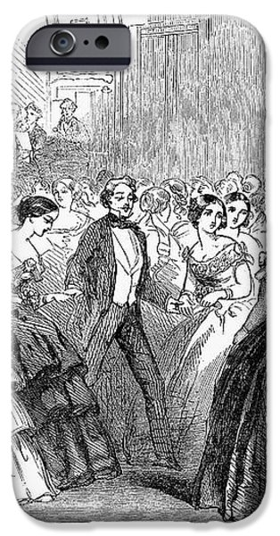 MORMON BALL, 1857 iPhone Case by Granger