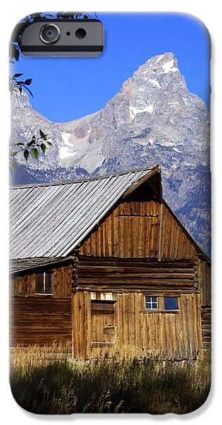 Mormon Row Barn  1 iPhone Case by Marty Koch