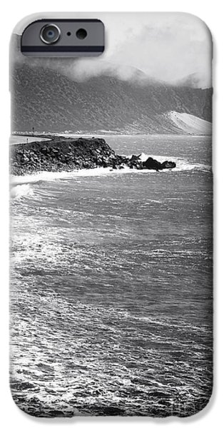 Morning Along the Coast iPhone Case by John Rizzuto