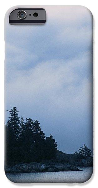 Fog Mist iPhone Cases - Morning Fog iPhone Case by Alan Sirulnikoff