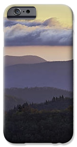 Morning on the Blue Ridge Parkway iPhone Case by Rob Travis