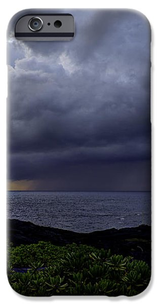 Morning Squall iPhone Case by Mike Herdering