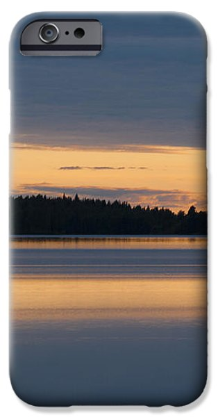 Morning Sun Rising at Arctic Sea iPhone Case by Heiko Koehrer-Wagner
