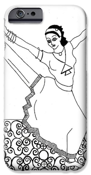 Moroccan Dancer iPhone Case by John Keaton