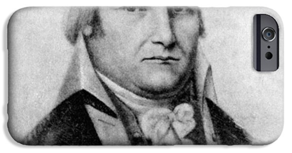 Recently Sold -  - American Revolution iPhone Cases - Moses Cleaveland (1754-1806) iPhone Case by Granger
