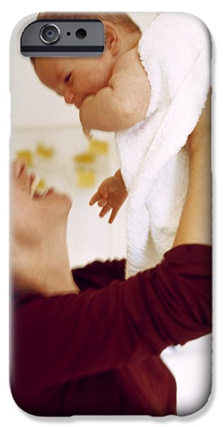 Mother And Baby iPhone Case by Ian Boddy