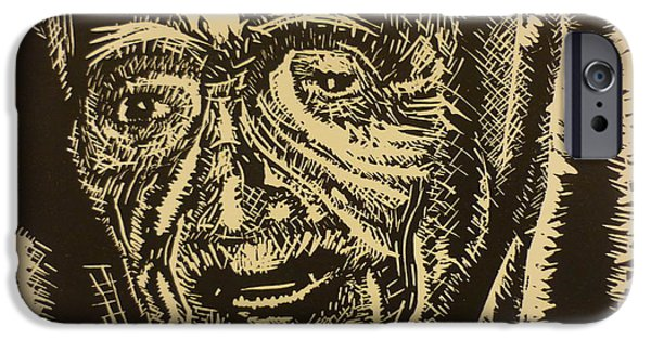 Figure Reliefs iPhone Cases - Mother Teresa iPhone Case by Casey P