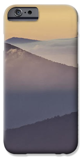 Mount Pisgah in Morning Light - Blue Ridge Mountains iPhone Case by Rob Travis