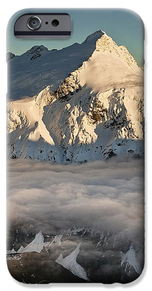 Mount Pollux And Mount Castor At Dawn iPhone Case by Colin Monteath