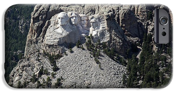 2009 iPhone Cases - Mount Rushmore, 2009 iPhone Case by Granger