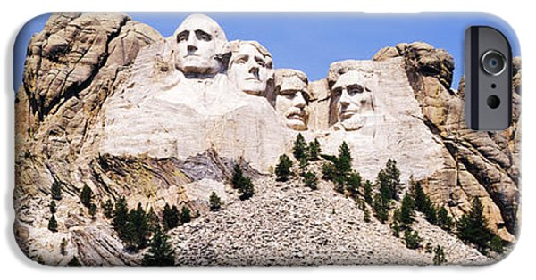 President iPhone Cases - Mount Rushmore in Daylight iPhone Case by Jeremy Woodhouse