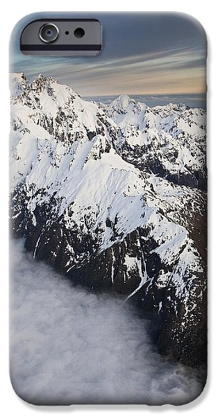 Mount Tutoko At Dawn In Fiordland Np iPhone Case by Colin Monteath