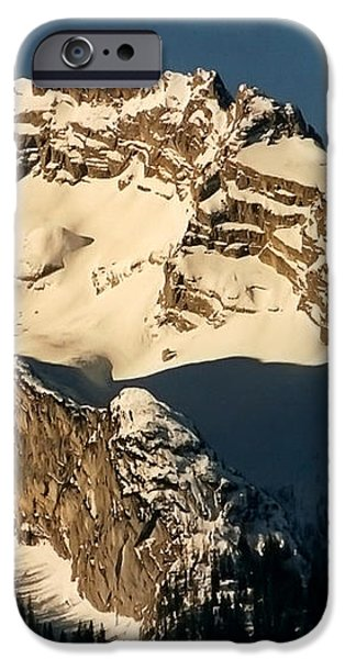 Mountain Christmas Austria Europe iPhone Case by Sabine Jacobs