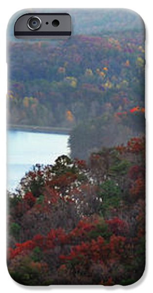Mountain Lake iPhone Case by Michael Waters