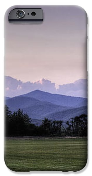 Mountain Sunset - North Carolina Landscape iPhone Case by Rob Travis
