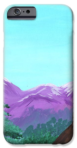 Mountain View iPhone Case by Jose Valeriano