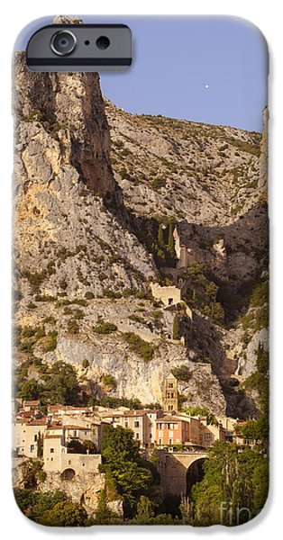 Moustier-Sainte-Marie iPhone Case by Brian Jannsen