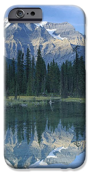 Mt Robson Highest Peak In The Canadian iPhone Case by Tim Fitzharris