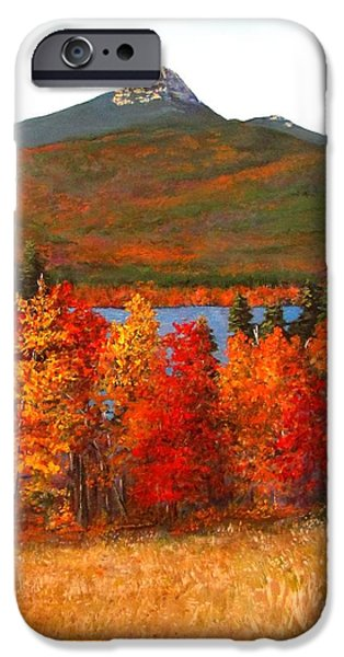 Recently Sold -  - Jack Skinner iPhone Cases - Mt.Chocorua iPhone Case by Jack Skinner