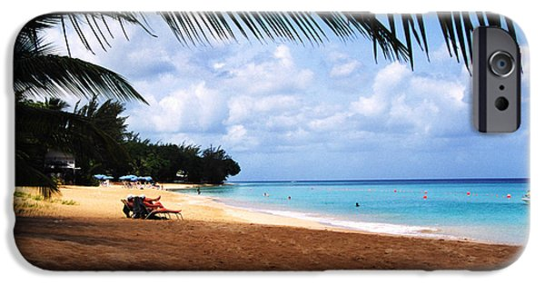 Mullen iPhone Cases - Mullens Beach Barbados iPhone Case by Thomas R Fletcher