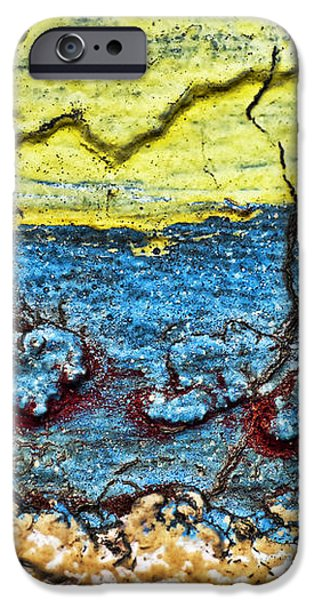 Multi-color Wall iPhone Case by Ray Laskowitz - Printscapes