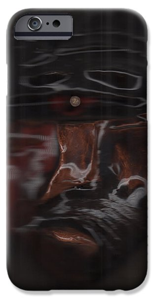 Impressionism Sculptures iPhone Cases - Murder by jrr iPhone Case by First Star Art