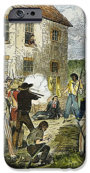 MURDER OF JOSEPH SMITH iPhone Case by Granger