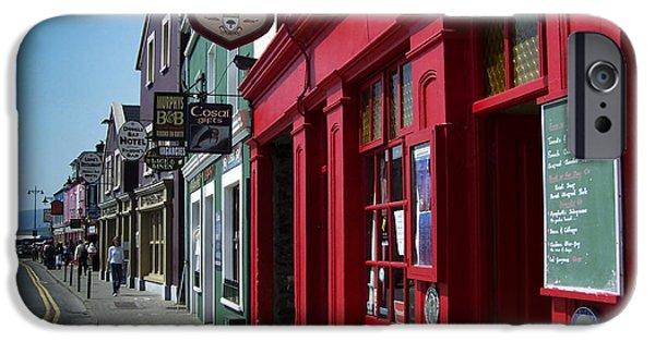Irish Photographs iPhone Cases - Murphys Bed and Breakfast Dingle Ireland iPhone Case by Teresa Mucha