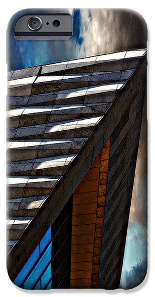 museum of liverpool iPhone Case by Meirion Matthias