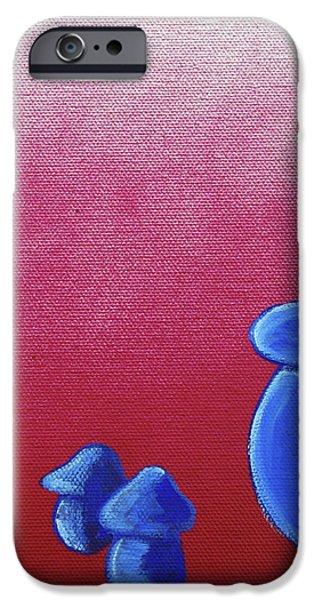 Mushroom Patch iPhone Case by Jera Sky