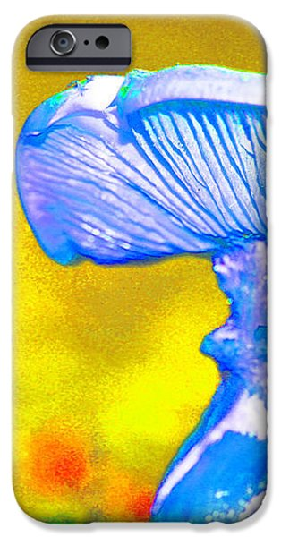 Mushroom Whimsy  iPhone Case by Marie Jamieson