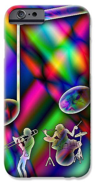 Music iPhone Case by Anthony Caruso