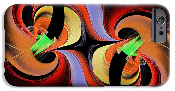 Fine Art Fractal iPhone Cases - Music To My Ears iPhone Case by Andee Design