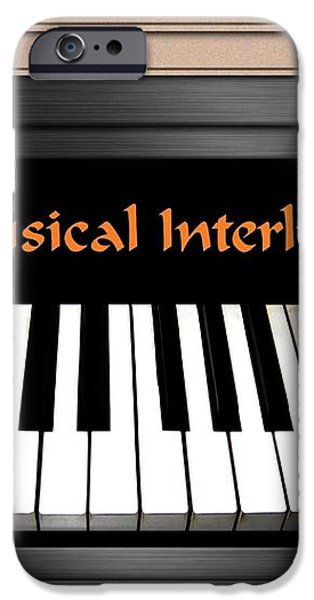 Musical Interlude iPhone Case by Will Borden