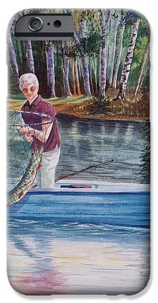 Musky Madness iPhone Case by Marilyn Smith