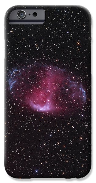 Mwp1, An Ancient Bipolar Planetary iPhone Case by Don Goldman