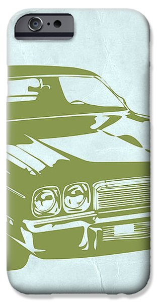 My Favorite Car 5 iPhone Case by Naxart Studio
