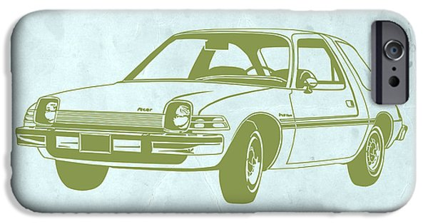 Auto iPhone Cases - My Favorite Car  iPhone Case by Naxart Studio