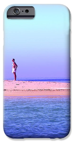 My Island Home iPhone Case by Holly Kempe