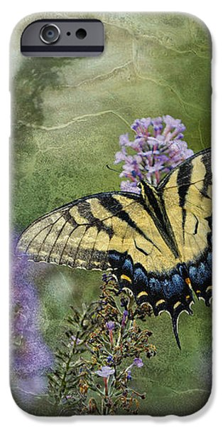 My Mothers Garden - D007041 iPhone Case by Daniel Dempster