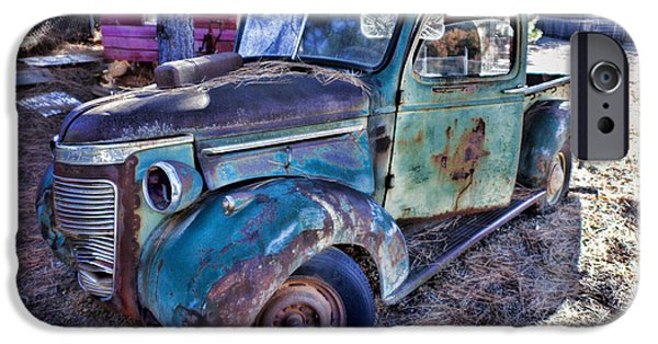 Truck iPhone Cases - My old truck iPhone Case by Garry Gay
