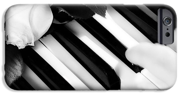 Piano iPhone Cases - My Piano iPhone Case by James BO  Insogna