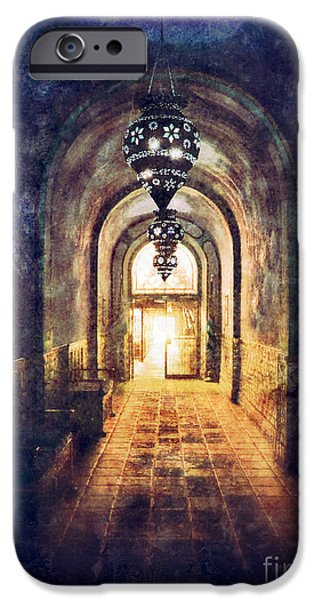 Mysterious Hallway iPhone Case by Jill Battaglia