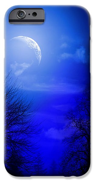 Animation iPhone Cases - Mystic Night iPhone Case by Mark Ashkenazi