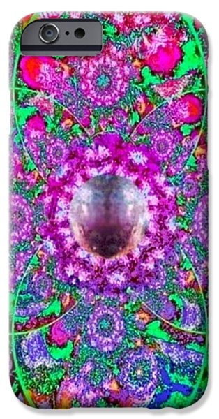 The Void iPhone Cases - Mystic Pearl  iPhone Case by Ray Tapajna