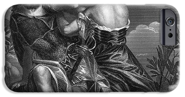 Warrior Goddess Photographs iPhone Cases - Mythology: Ares iPhone Case by Granger