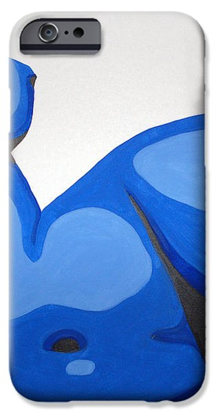 Naked Woman iPhone Case by Michael Ringwalt